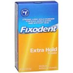 FIXODENT strong, long hold powder for easy application and airtight SEAL