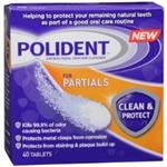 POLIDENT Antibacterial Denture Cleanser