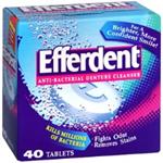 EFFERDENT Anti-Bacterial Denture Cleanser