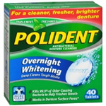 POLIDENT antibacterial Cleanser overnight