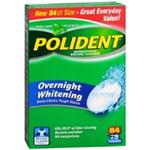 POLIDENT Antibacterial Denture Cleanser 84 tablets