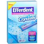 EFFERDENT Anti-Bacterial Denture Cleanser 48 icy mint