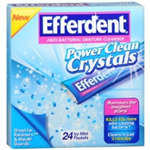 EFFERDENT Anti-Bacterial Denture Cleanser 24 icy mint pac
