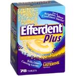EFFERDENT PM Overnight Denture Cleanser 78 tablets