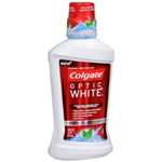 COLGATE optic white Icy fresh mint 16 oz
