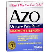 AZO Urinary Pain Relief Max Strength (12 Tablets)