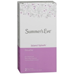 Summer's Eve Island Splash Douche (2X4.5ml)