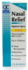 Quality Choice 12 Hour Relief Nasal Mist Severe Congestion 1 fl oz
