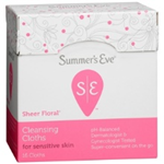 Summer's Eve Sheer Floral Cleansing Cloths (16 Cloths)
