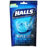 Halls Ice Pepperming Cough Suppressant 30 drops