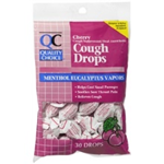 Quality Choice Cherry Cough Drops 30 drops