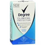 Degree Clinical Protection Shower Clean Anti-perspirant 1.7 oz