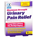 QC Urinary Pain Relief (12 Tablets)