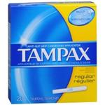 Tampax Regular Tampons (20 Ct.)