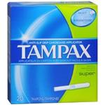 Tampax Super Tampons (20 Ct.)