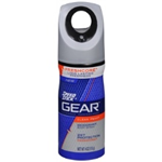 Speed Stick Gear Clean Peak Deodorant Body Spray 4 oz