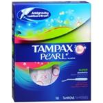 Tampax Pearl Super Tampons (18 Ct.)