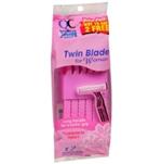QC Ladies Twin Blade Plus Razors (2 Pk.)