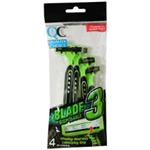 QC 3 BLADE Disposable Razors