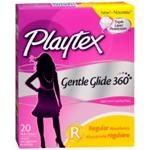 Playtex Gentle Glide 360 Regular Plastic Tampons (20 Ct.)