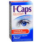 I Caps Lutein & Zeaxanthin (60 Tablets)