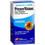 Bausch + Lomb PreserVision Eye Vitamin