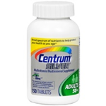 Centrum Silver Adults 50+ (150 Tabs)