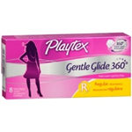 Playtex Gentle Guide 360 Regular Plastic Tampons (8 Ct.)