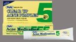Rugby Acne Medication Benzoyl Peroxide Gel USP 5% 1.5 oz