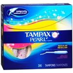 Tampax Pearl Regular Tampons (36 Ct.)