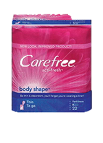 Carefree Thin To Go Pantiliners (22 Ct.)