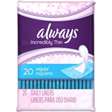 Always Thin Liners (20 Ct.)