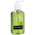 Neutrogena Oil-Free Acne Wash Redness Soothing Facial Cleanser 6 fl oz