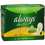 Always Ultra Thin Regular Pads (22 Ct.)