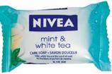 Nivea Mint and White Tea Care Soap 90g