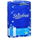 Stayfree Maxi Regular Pads (24 Ct.)