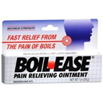 BOIL- EASE PAIN RELIEVING OINTMENT 1 OZ.