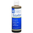 BETADINE SOLUTION KILLS GERMS IN MINOR CUTS, SCRAPES & BURNS