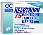 QC HEARTBURN 30 TABLETS