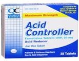 QC ACID CONTROLLER 25 TABLETS