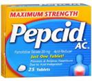 PEPCID ACID REDUCER 25 TABLETS