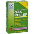 QC GAS RELIEF 18 CHEWABLE TABLETS