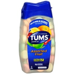 TUMS Assorted Fruit Extra Strength 750- 96 Chewable Tablets