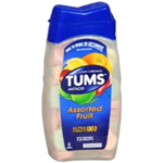 TUMS Assorted Fruit Ultra Strength 1000- 72 Chewable Tablets