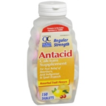 Quality Choice Antacid Tablets Regular Strength 150 Chewable Tablets