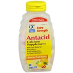 Quality Choice Antacid Tablets Extra Strength 96 Chewable Tablets